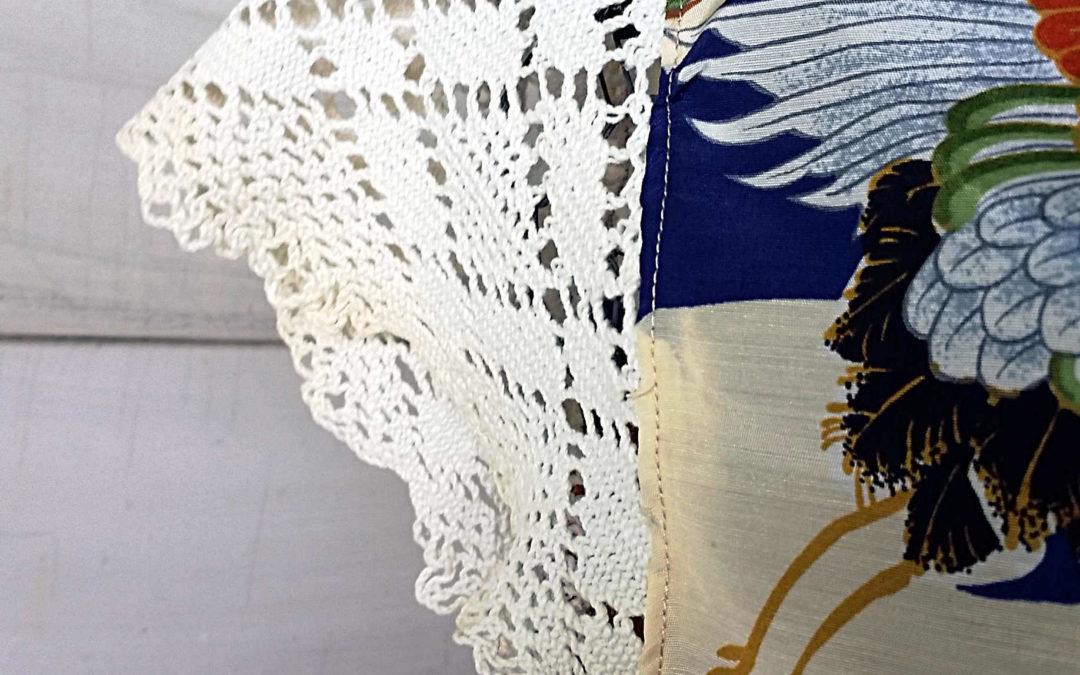 Using Up Treasured Fabric